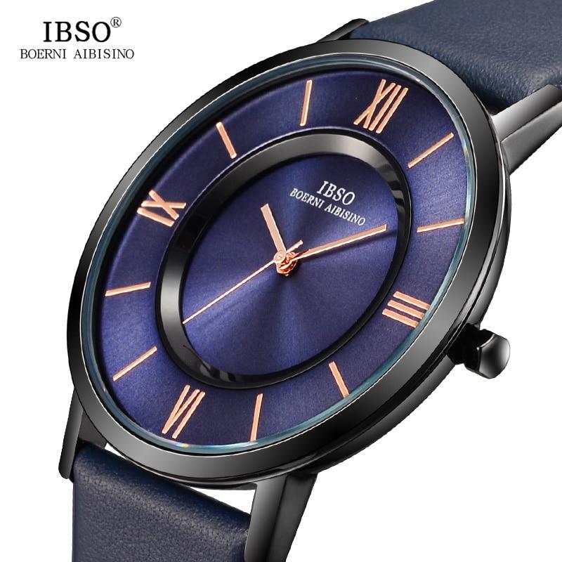 IBSO женские кварцевые часы модные оригинальные дизайнерские наручные часы для женщин наручные часы с циферблат с римскими цифрами Relogio Feminino