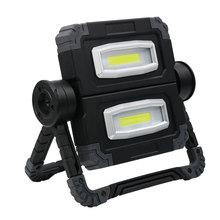 Portable LED Spotlight Professional Work Light Outdoor Camping Foldable Flashlight 360° Rotation Accessories