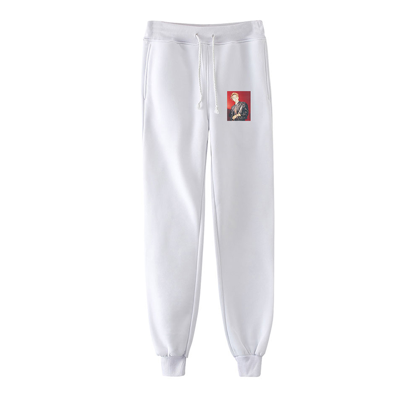 Spring Autumn Print TAEYONG Kpop Hip Hop Men Women Harem Pants Streetwear Casual Male Female Long Loose Pant Trousers Sportswear