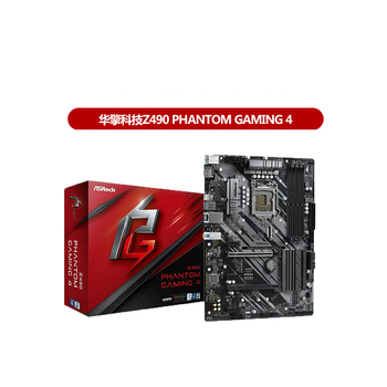 ASROCK Z490 Phantom Gaming 4 Motherboard Wifi6, M.2 Interface, Support RGB Z490 Lga1151 ATX Motherboard
