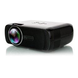 BL-80 ręczne ustawianie ostrości projektor cyfrowy LED 2300lm HD projektor 3D kino domowe kino domowe odtwarzacz multimedialny VGA USB AV HDMI