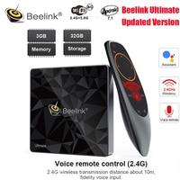 Hot Beelink GT1 A/GT1 Ultimate Android 7.1 TV Box Amlogic S912 Octa Core 3GB+32GB Bluetooth 4.0 FHD 4K Set Top Box Media Player