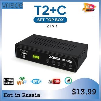 Newest HD T2 TV Tuner DVB T2+C digital tv receiver support  youtube WIFI IPTV DVB T2 DVB C set-top box H.264 dobly AC3 receptor телевизор oled lg 78 oled77c9pla черный ultra hd 100hz dvb t2 dvb c dvb s2 usb wifi smart tv rus
