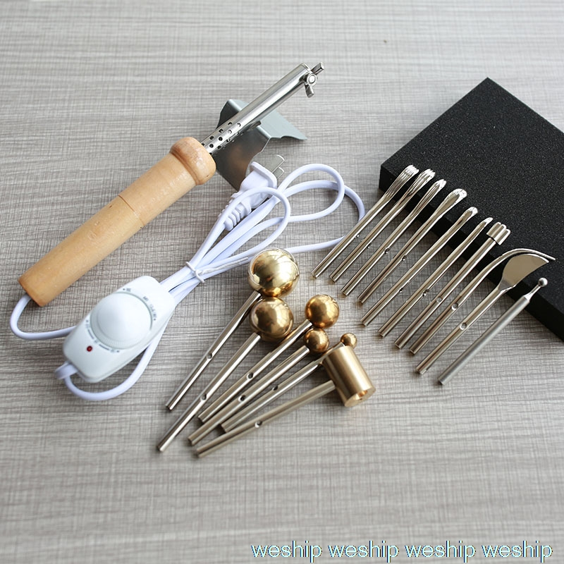 HOT SALE flower Iron Master Set 16 heads FOR patchwork Sew Male DIY 220V weight 0