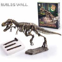 Archäologie Ausgrabung Spielzeug Dinosaurier Wissenschaft Kit Dig Fossil Spiel Baut T-Rex Stegosaurus Triceratops Mammoth Skeleton Modelle