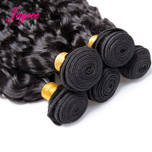 Image 3 - Jaycee Brazilian Water Wave Bundles With Closure Wet And Wavy Human Hair Bundles With Closure 3 Bundles With Closure Hair Weave