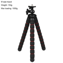 Go pro Accessories Flexible Sponge Octopus Tripod for 7 6 5 4 H9R Sj9 Sj8 DJI OSMO Action Camera Mobile Phone Redmi7