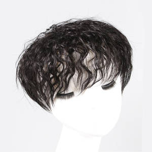 Toupee-Units Topper Human-Hair Women for Black Adhesive Curly Liquidation-Sale Brazilian