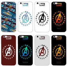 new marvel The Avengers comics logo Accessories phone case For Xiaomi Redmi S2 6 6A 5 plus 5A 4X 4A 3 Note 6 5A 5 pro 4 3 2(China)