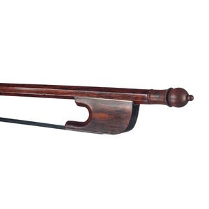 Image 2 - Professional 4/4 Cello Bow Snakewood Bow Black Horsehair Round Stick Snakewood Frog Durable Use