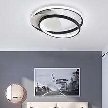 New Minimalism art Modern Led Ceiling Lights For Bed room Balcony study lights led lamp plafondlamp Lamp 110v 220v