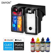 DMYON PG830 CL831 Ink Cartridge Replacement for Canon 830 831 For PIXMA MP145 198 228 476 308 318 IP1180 1880 1980 2580 2680