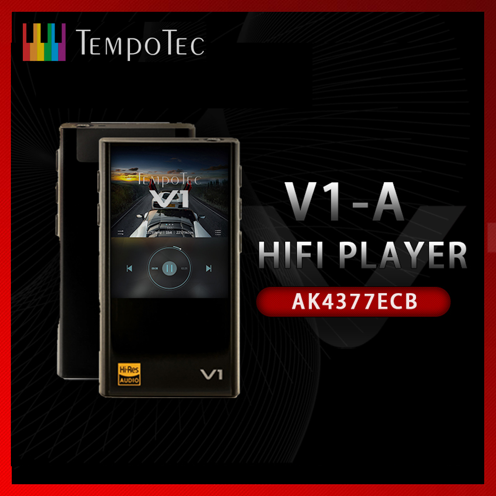 MP3 плеер TempoTec V1-A вариациях, Hi-Fi, PCM и DSD 256 Поддержка Bluetooth LDAC AAC APTX вход и выход USB дак для ПК с ASIO AK4377ECB