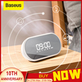 Baseus ночник Bluetooth динамик с функцией будильника  портативный беспроводной громкоговоритель звуковая система для прикроватной тумбочки и оф...