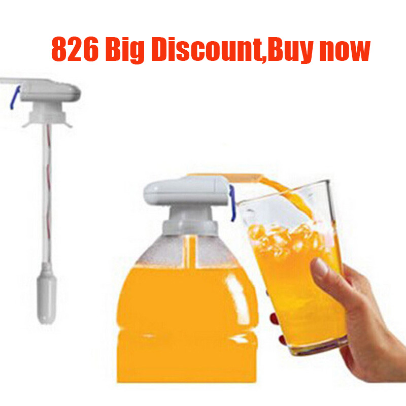 Beverage-Dispenser Kitchen-Tool Tap-Water Drink Electric Straw-X Outdoor for Wedding-Decoration title=