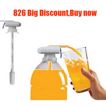 Tap Water & Drink Beverage Dispenser Electric Automatic Dispenser For wedding decoration Outdoor Home Kitchen Tool straw automatic electric beverage dispenser drink separator