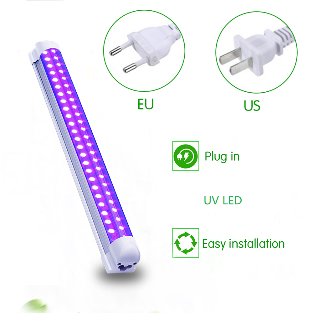 10W LED Disco Light Stage Light DJ UV Purple Led Tube For Party Christmas Bar Lamp Laser Stage Wall Washer Spot Light Backlight