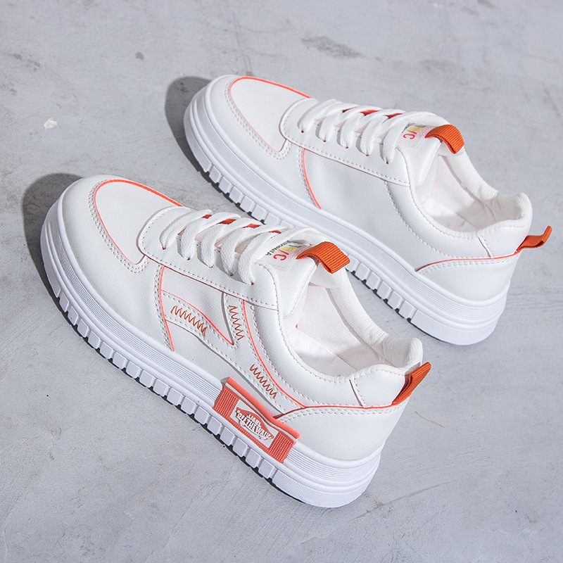SWYIVY Chaussure White Sneakers Women Casual Shoes Shallow 2020 Spring Fashion Woman Shoes Platform Ladies Sneakers For Women