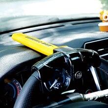 Car Steering Wheel Lock  Foldable Security  Rotary Steering Wheel Lock Alloy Steering Wheel Anti Theft Lock Car Accessories