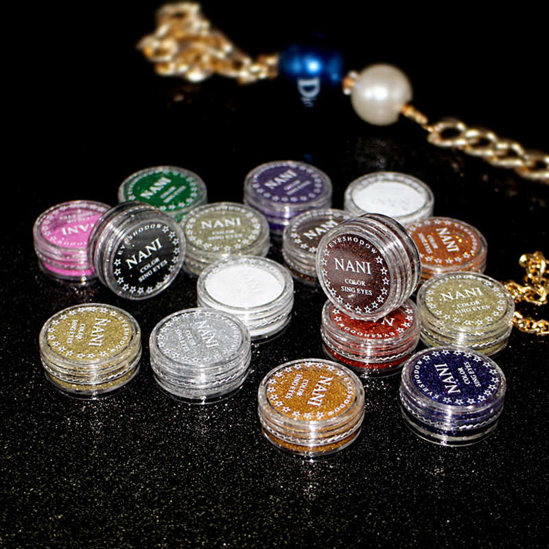 Glitter Parel Oogschaduw Langdurige Sequin Oogschaduw Palet Cosmetica Diamond Shimmer Metallic Oogschaduw Pallete Make TSLM2