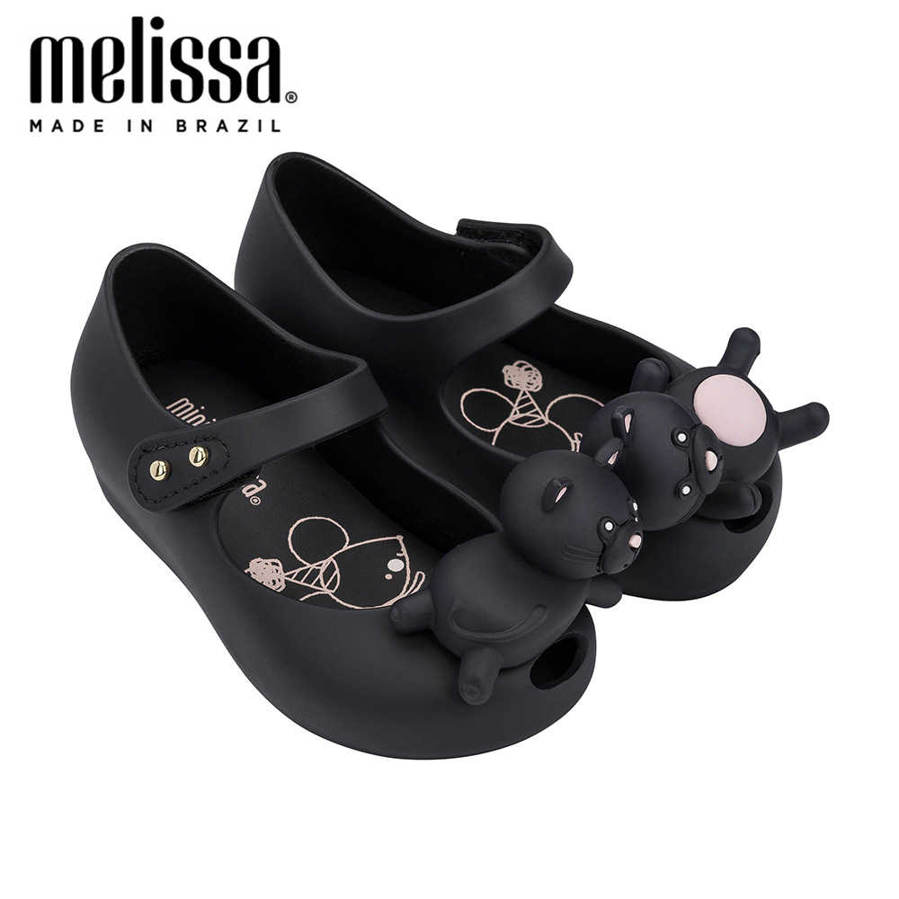 MINI MELISSA UltraGirl MINI Cat Girl Jellyรองเท้า 2020 ฤดูร้อนใหม่รองเท้าMelissaรองเท้าแตะเด็กรองเท้าแตะเด็กวัยหัดเดินZandalias