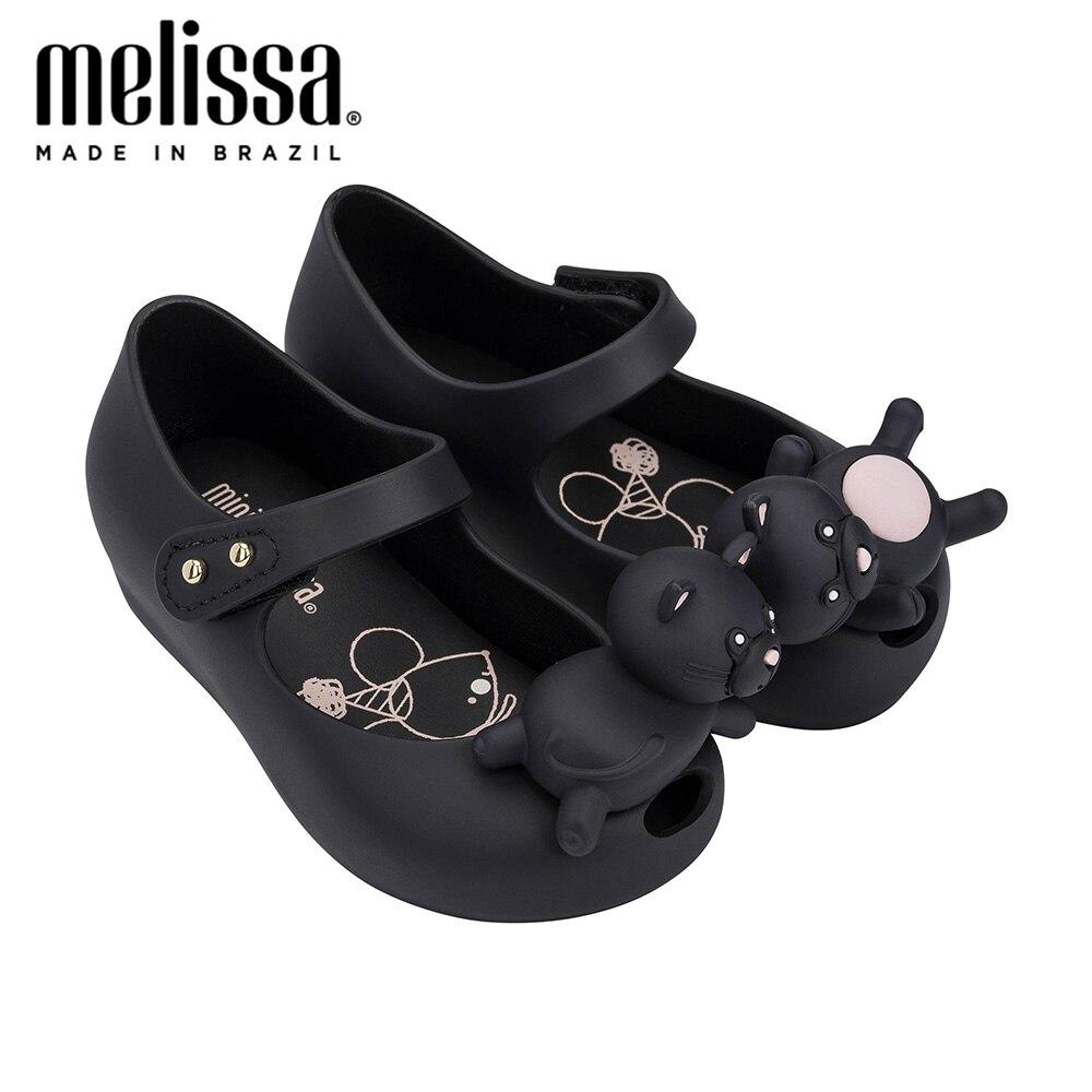 Mini Melissa Ultragirl Mini Cat Girl Jelly Shoes 2020 New Summer Shoes Melissa Sandals Kids Sandals Girls Toddler Zandalias