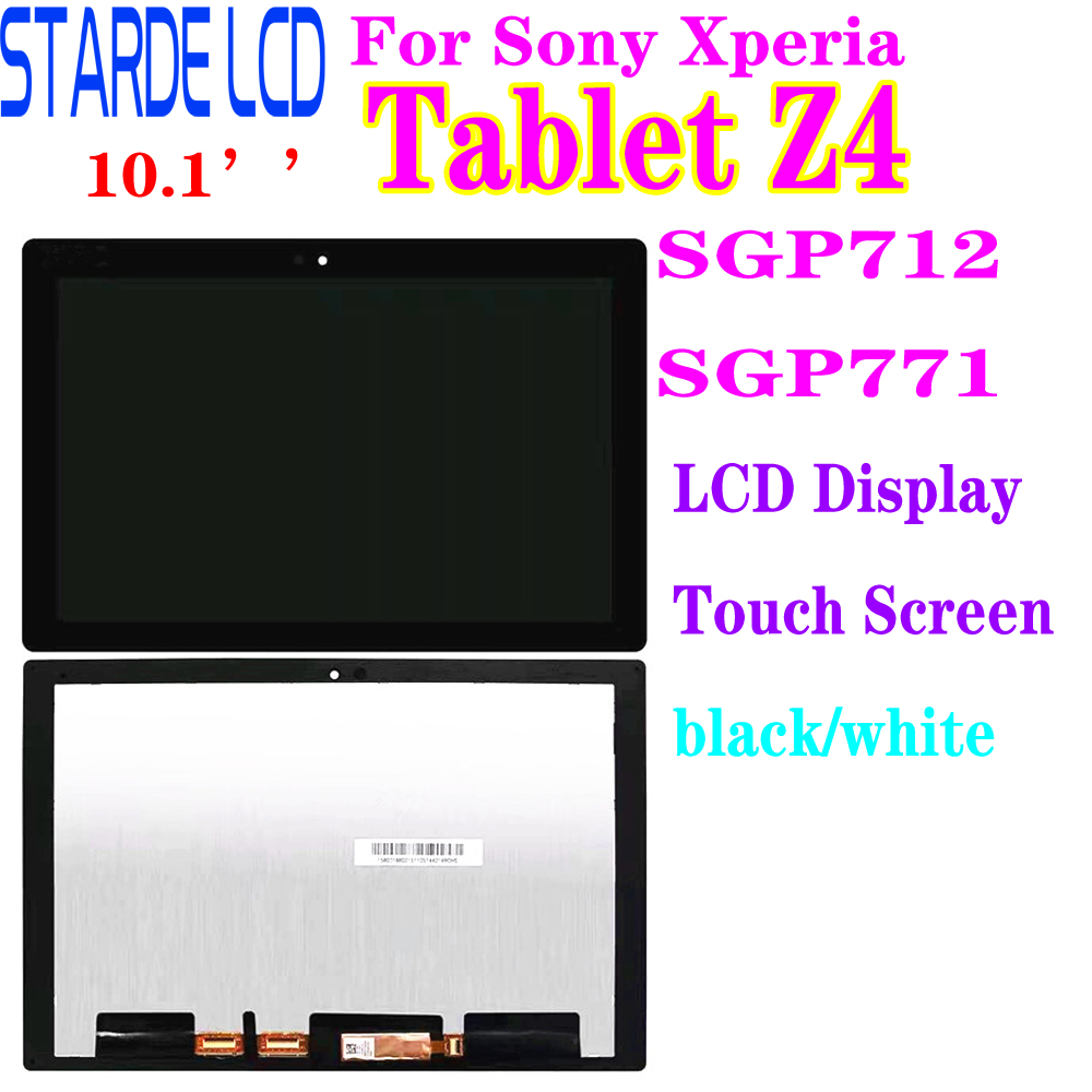 Starde LCD pour Sony Xperia tablette Z4 SGP712 SGP771 LCD affichage écran tactile numériseur assemblée Z4 Lcd affichage