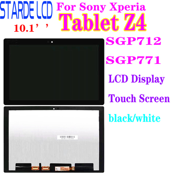 Starde LCD for Sony Xperia Tablet Z4 SGP712 SGP771 LCD Display Touch Screen Digitizer Assembly Z4 Lcd Display 4 6 original display for sony xperia z3 compact d5803 d5833 lcd touch screen digitizer with frame for sony z3 mini lcd display