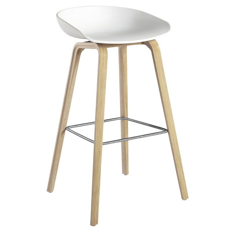 Iron Bar Chair Modern Simple Creative Bar Chair Northern Europe Bar Table Chair Stool Household High Chair Coffee Shop Chair