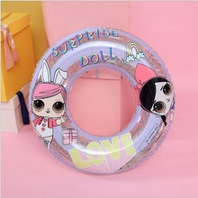 New Inflatable Swimming Circle childrens float inflatable buoy baby Pool Transparent swimming ring water toys