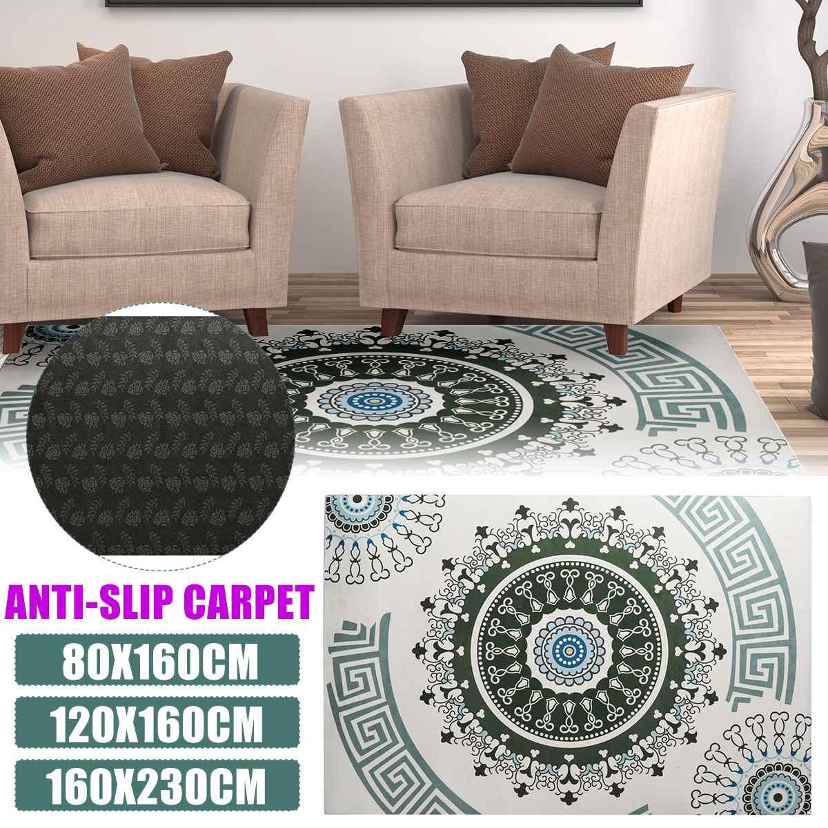 Bohemia Ethnic Mandala Round Floor Carpet Soft Classic Geometric Flower Sofa Rug Europe Retro Large Area Rug For Living Room Carpet  - AliExpress