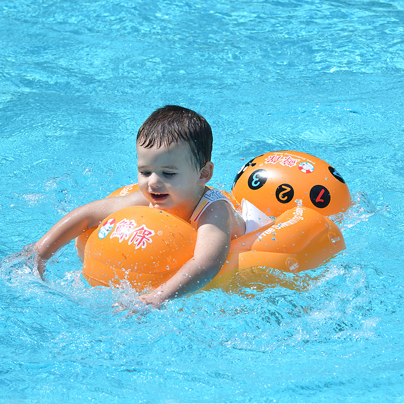 New Baby Swimming Ring Float Inflatable Kids Swim Floating Infant Swimming Pool Accessories Children Bathing Toy Dropship