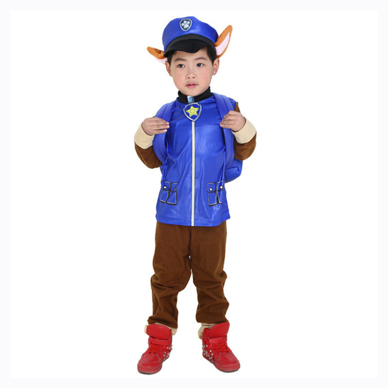 2020 New Dogs Costume Kids Birthday Marshall Chase Skye Cosplay Costume Boys Girls Carnival Party Costume 3
