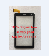 Free shipping 7 inch touch screen,100% New for Dexp ursus N470 N370 4G 3G touch panel, touch panel digitizer(China)