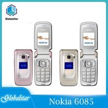 Nokia 6085 Renoviert handys Original 2G GSM Entsperrt Flip Gute qualität Günstige Altes Handy renoviert Kostenloser Versand