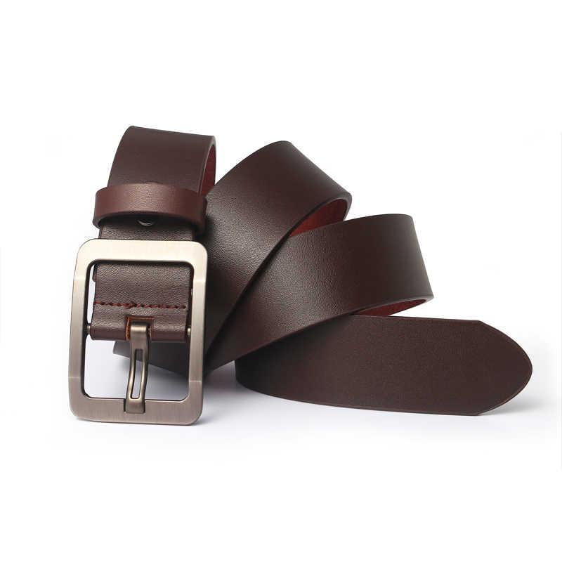 Maschio cinturino in vera pelle cinghia di cuoio genuino degli uomini della cinghia di cuoio cinghie degli uomini del progettista degli uomini di alta qualità cinto masculino