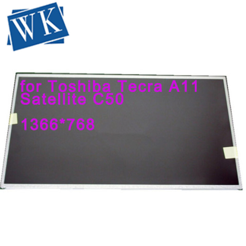 """Free shipping 15.6"""" Laptop LCD Screen for Toshiba Tecra A11 Satellite C50 C660 C850D C855D L650 LED LVDS WXGA 1366x768 matrix"""