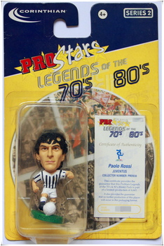 Paolo Rossi Premier League Football World Cup Star Messi Dibala Tevez Diego Maradona Figure Argentina Doll Toy Model Sports image