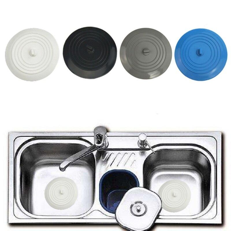 Round Large Size Environmentally Friendly Silicone Sink Plug Household Kitchen Tool