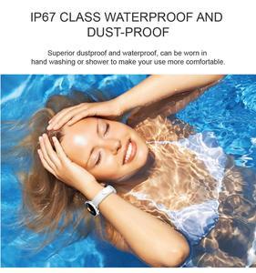 Image 5 - H7 女性のスマートウォッチ IP67 防水心拍数モニター Bluetooth スマートウォッチ Android IOS フィットネスブレスレット PK H1 H2