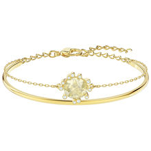 High Quality SWA Original Lady New Warm Love Elegant Fashion Solar Crystal Bracelet Jewelry