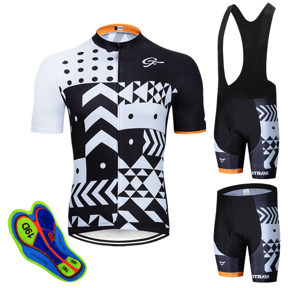 2020 NW STRAVA cycling team jersey gel pad bike shorts Ropa Ciclismo mens summer bike wear quick dry bicycling Maillot Culotte|  - title=