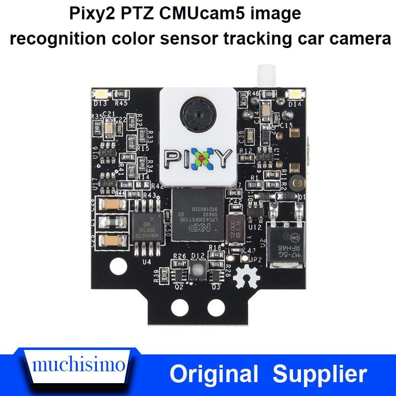 Pixy2 PTZ CMUcam5 Image Recognition Color Sensor Tracking Car Camera Simulation Robot Robotic Arm Bionic Robot AI  Pixy2