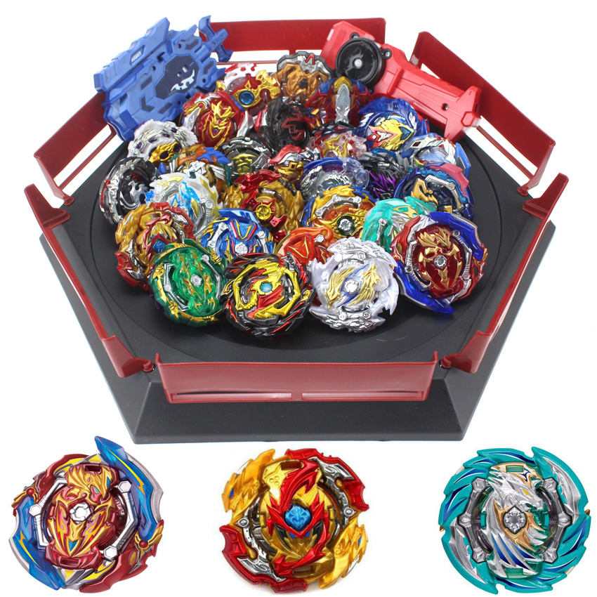 Beyblade Burst Set Toys Beyblades Arena Bayblade Metal Fusion 4D with Launcher Spinning Top Bey Blade Blades Toy Christmas gift