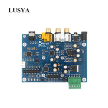 Lusya AK4493 EQ DAC DSD DOP Coaxial Fiber SPDIF Digital Audio DAC Decoder Board support IIS 384KHz DSD512 T0849(China)