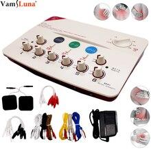 EMS elektroakupunktur kas stimülatörü 6 kanal çıkışı masaj cihazı rahatlatıcı kaslar ve fizyoterapi