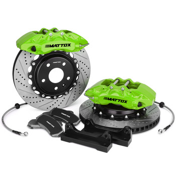 Mattox Racing Performance Big Brake Kit Drilled Slotted Brake Rotor 378-32mm FOR Ford  Mustang Boss 302  2012