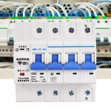 400V 4P WiFi disjoncteur à télécommande par commande vocale avec Amazon Alexa et Google Home commutateur intelligent/recperdant automatique