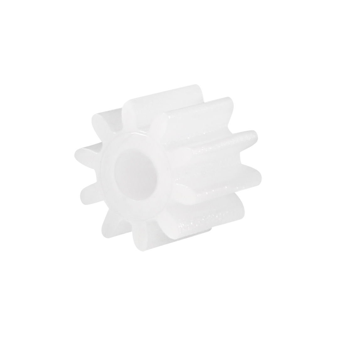 Uxcell 30Pcs 102A Plastic Gear Toy Accessories 6mm OD W 10 Teeth For DIY Car Robot Motor