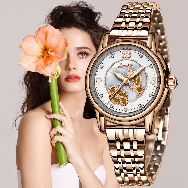 Sunkta Watch Relogio Women Watches Reloj Mujer Relogio Feminino Reloj Watch Women Montre Femme Zegarek Damski Relojes Para Mujer